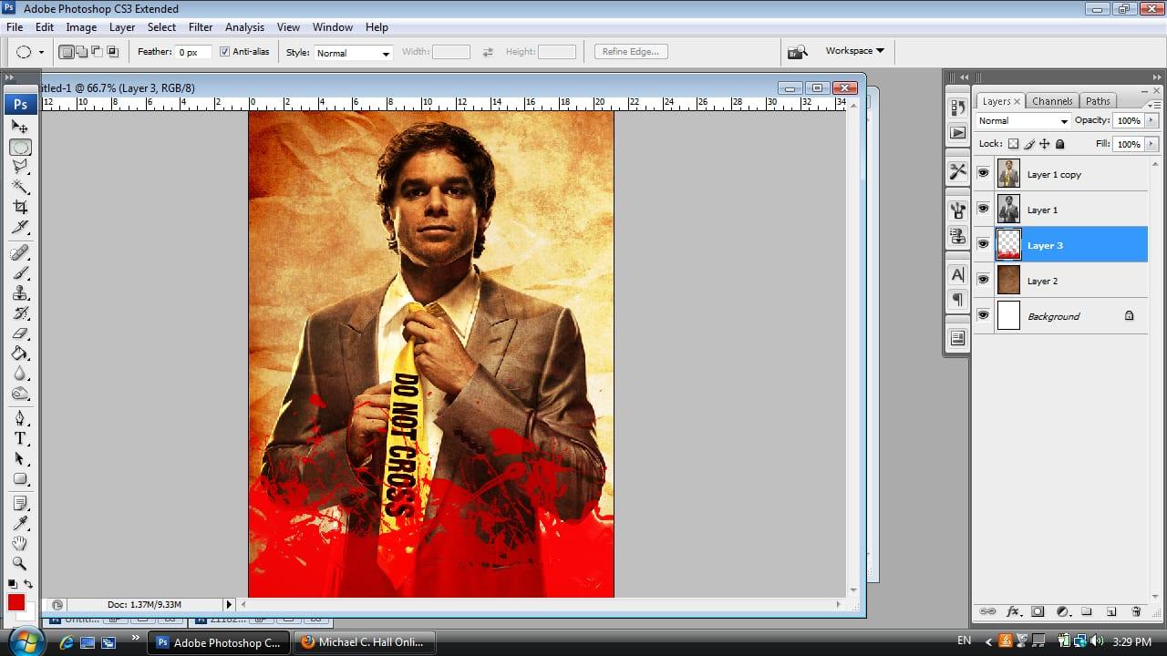 Dexter Photoshop Tutorial Step Six