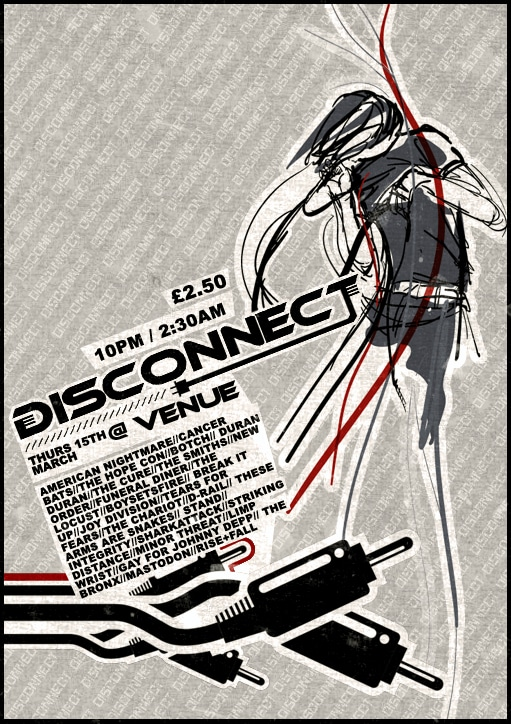 Disconnect Flyer