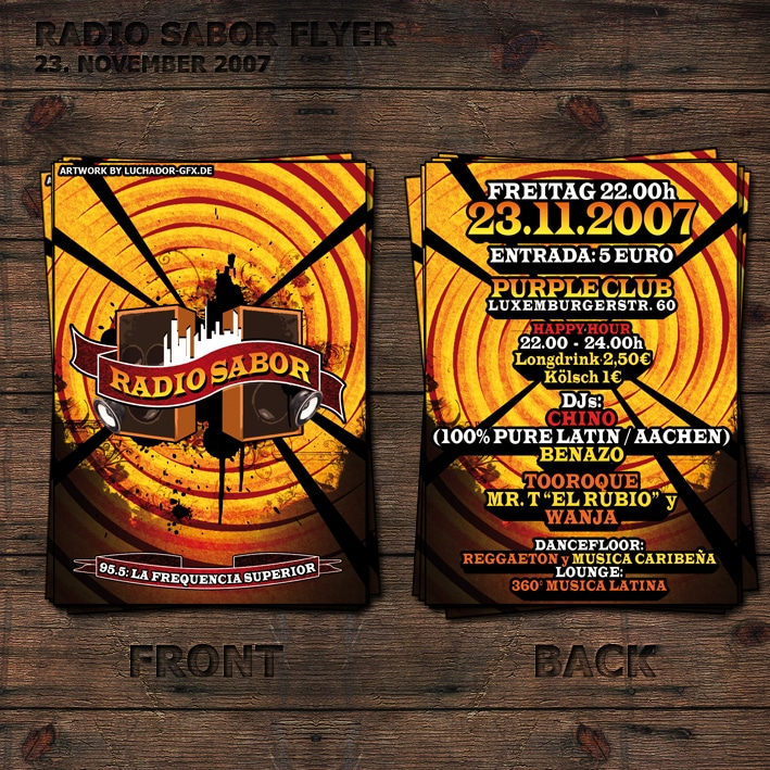 Radio Sabor Flyer