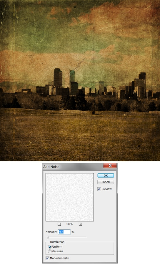 Give Your Photos A Distressed Grunge Effect Photoshop