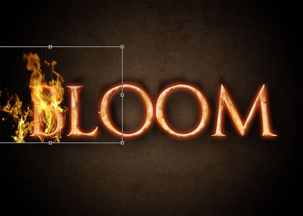 Create a Blazing Fire Text Effect in Photoshop -DesignBump