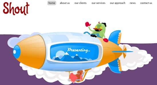 Cartoon Character Design Website : Cartoon website design inspiration adultcartoon