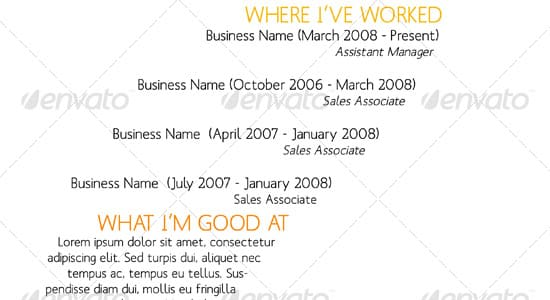 Typography. Breathtaking Tips For Writing A Resume ...  10 Tips For Creating A Resume