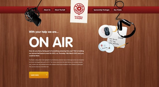 40+ Awesome One Page Website Designs for Inspiration -DesignBump
