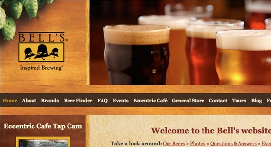 30+ Great Brewery Website Designs for Inspiration -DesignBump