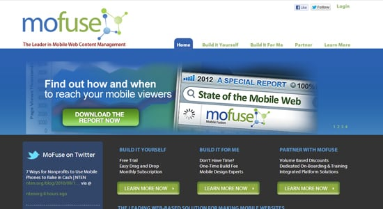 convert websites to mobile