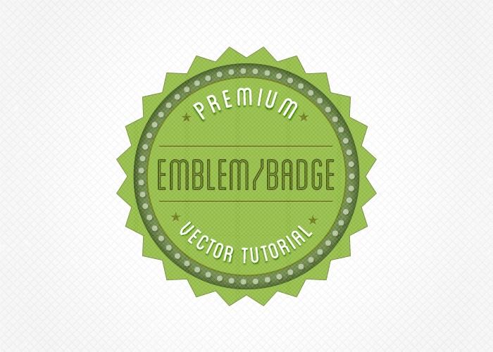 Create a Retro Badge/Emblem Logo in Illustrator [Tutorial + Free
