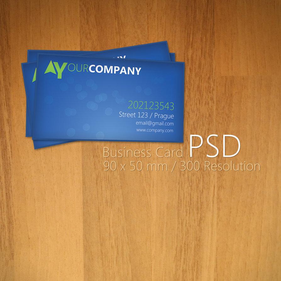 20 free business card psd templates to download designbump magicingreecefo Choice Image