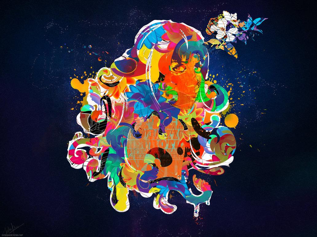35  digital abstract illustrations for inspiration