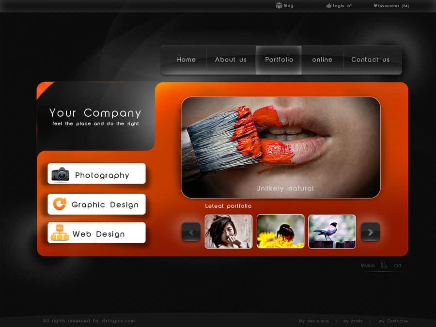 33  portfolio website designs for inspiration