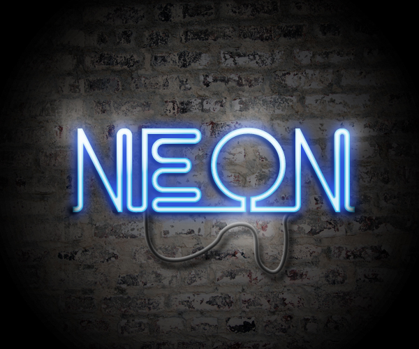 easy neon text effect in photoshop tutorial