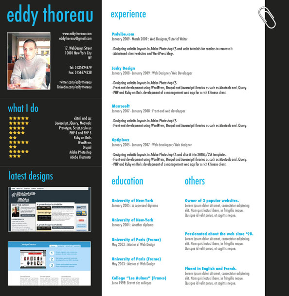 9 Helpful Resume Design Tutorials To Learn DesignBump