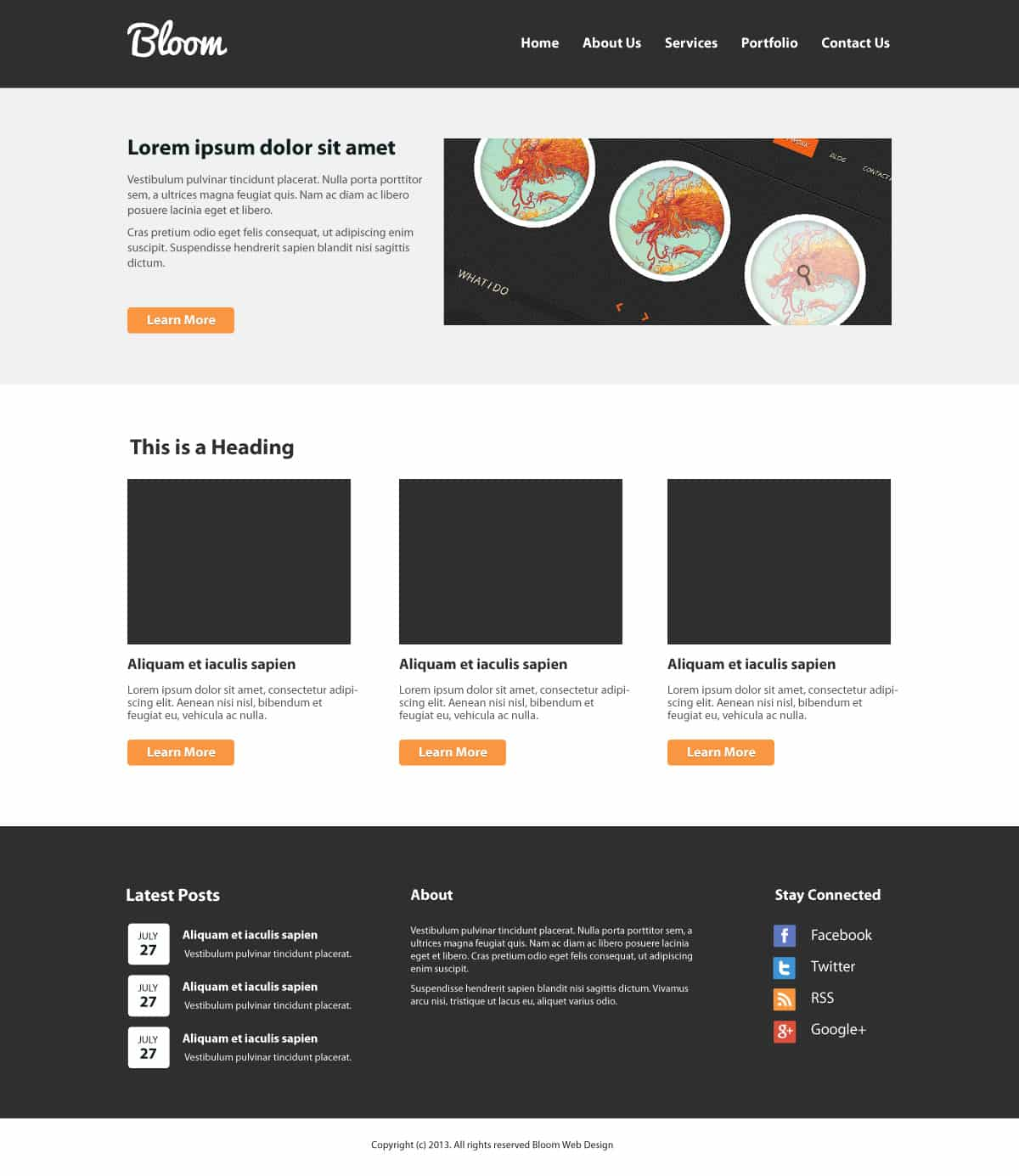 Psd Lay Out: Create A Clean Website Layout PSD To HTML/CSS [Tutorial