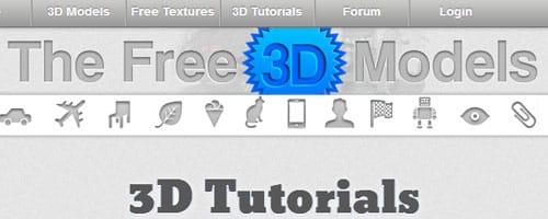 Tf3dm com - Free 3D Models, Textures, Tutorials & Forum