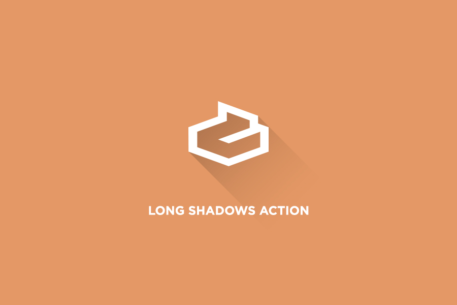 long-shadow-psd-action