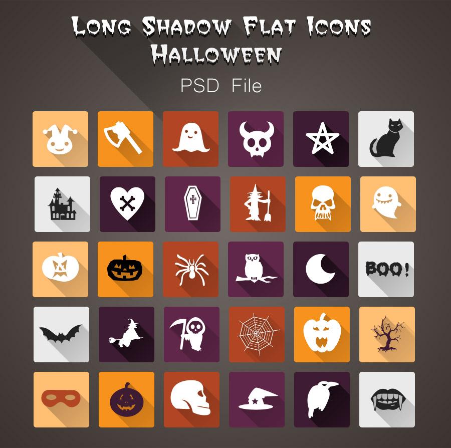 Halloween-PSD-Icons