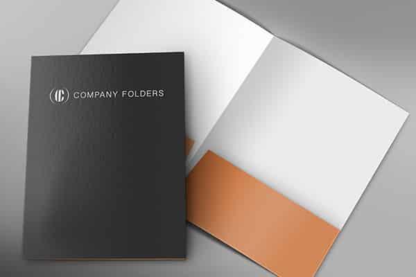 Company Folders Mockup Template