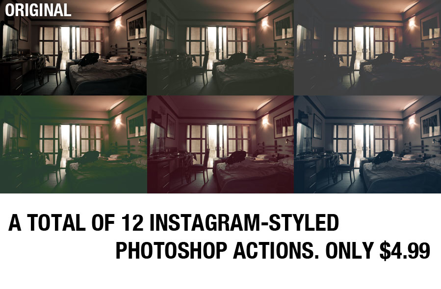 Styled Photoshop Actions
