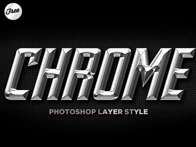 Photoshop Layer Styles for Text Effects