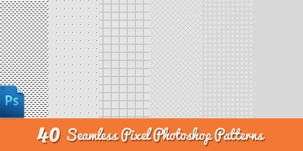 Seamless Photoshop Pixel Patterns