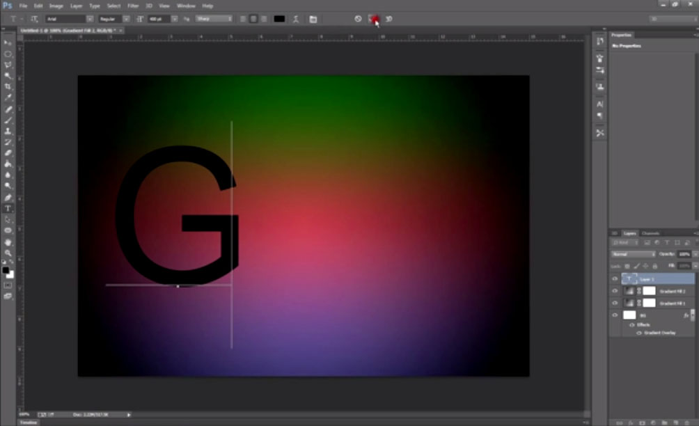 Create a Glowing Text Effect Photoshop Tutorial