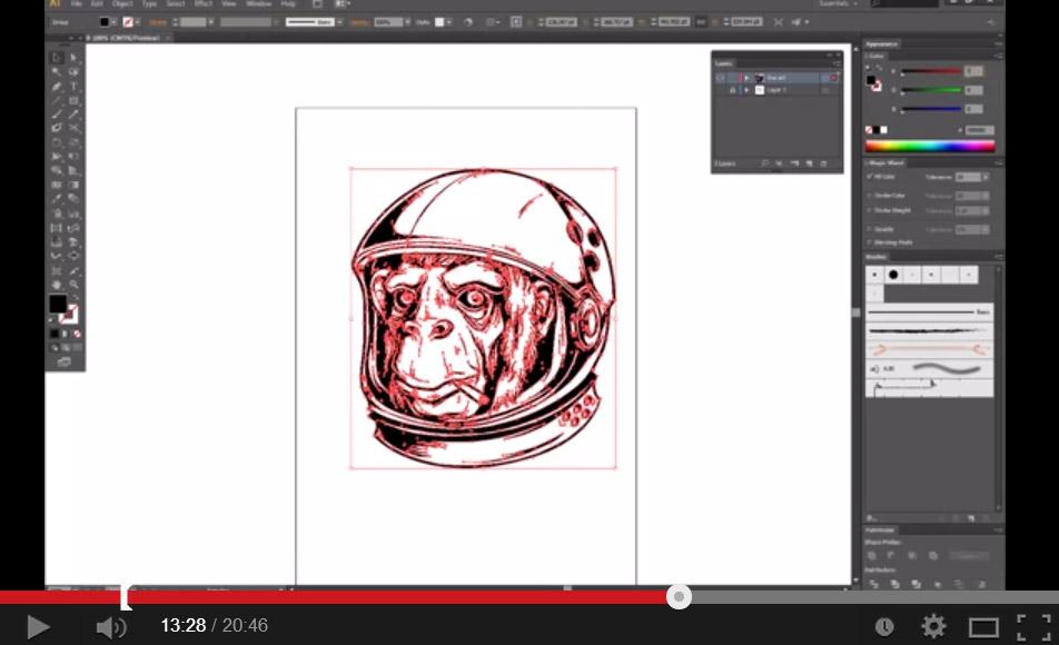 Space-Chimp-Illustration-Tutorial-004