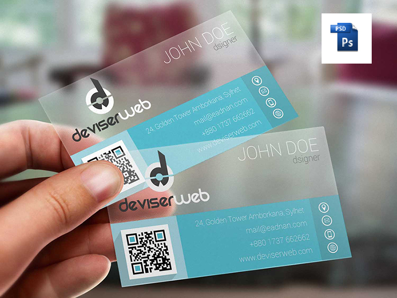 55 Best PSD Business Card Templates -DesignBump