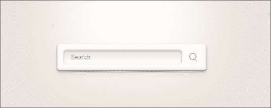 CSS3 & PSD Search Boxes