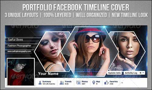 PSD Facebook Timeline Covers
