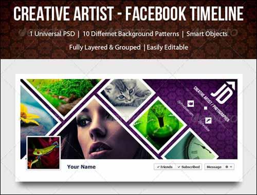 40+ PSD Facebook Timeline Covers You'll Love -DesignBump