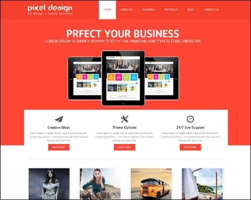 Responsive Business HTML5 Templates