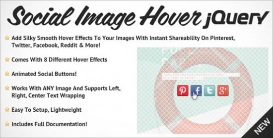 Free jQuery CSS3 Image Hover Effects