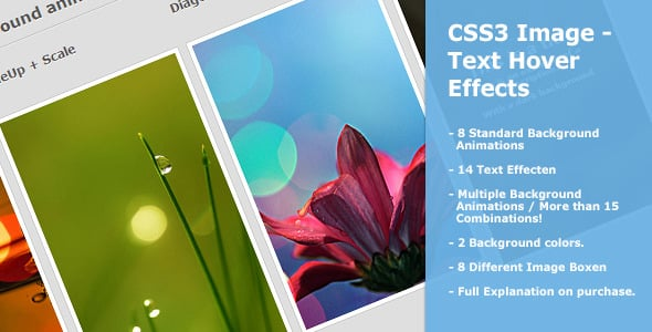 50+ Free jQuery CSS3 Image Hover Effects -DesignBump