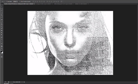 create a easy typographic portrait in photoshop  tutorial