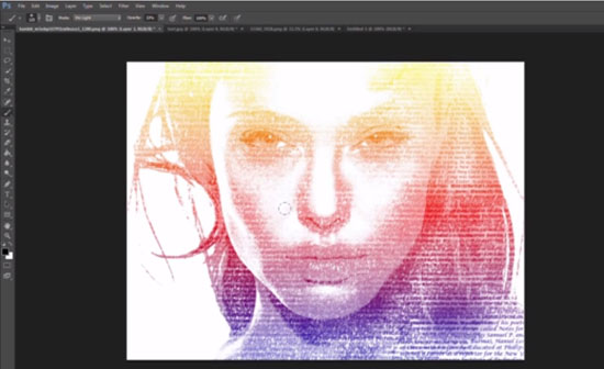 Create a Easy Typographic Portrait in Photoshop [Tutorial] -DesignBump