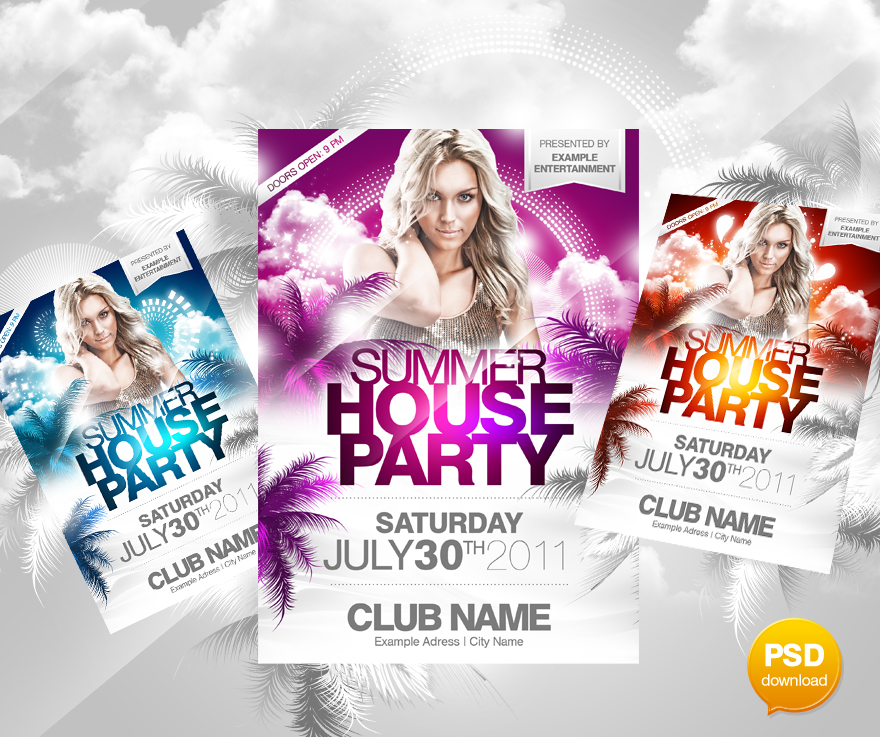 30+ Best Print Ready PSD Flyer Templates -DesignBump