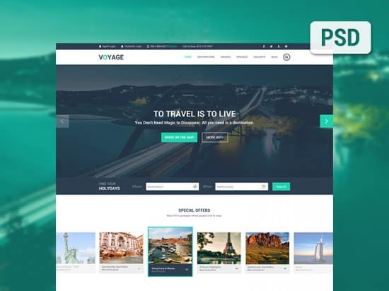 40  high quality psd website templates