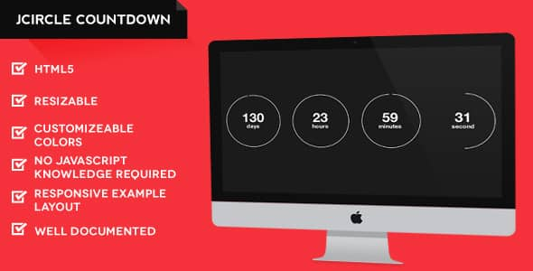 jQuery Countdown Timer Scripts & Tutorials