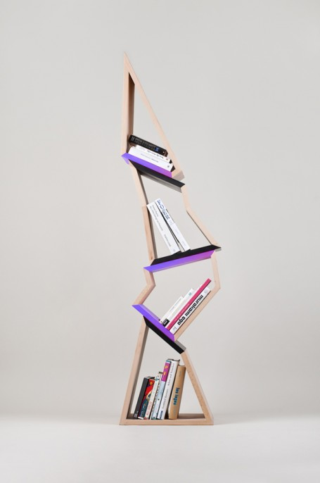30 Awesome and Innovative Bookshelf Designs