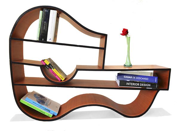 Innovative Bookshelves 30 awesome and innovative bookshelf designs -designbump