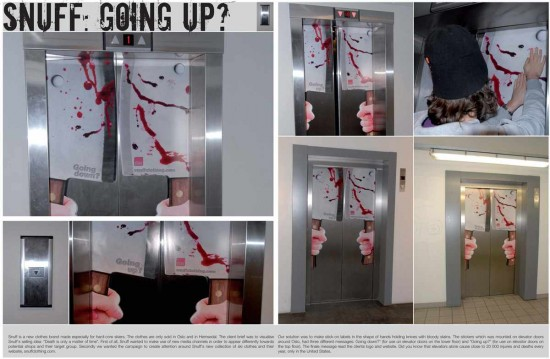 20 Clever Elevator Advertising