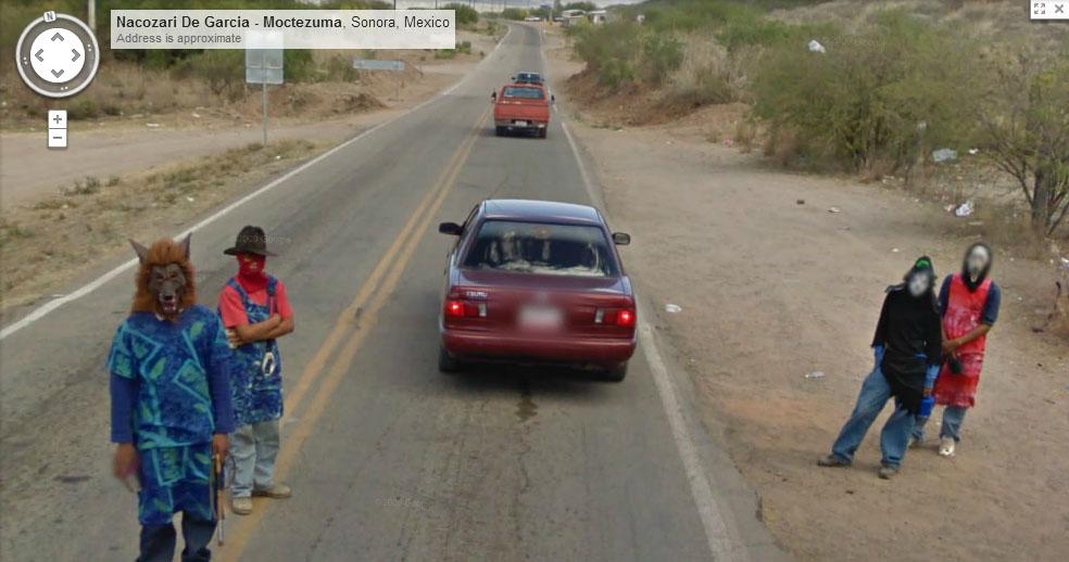 20 Shocking Google Street View Sightings
