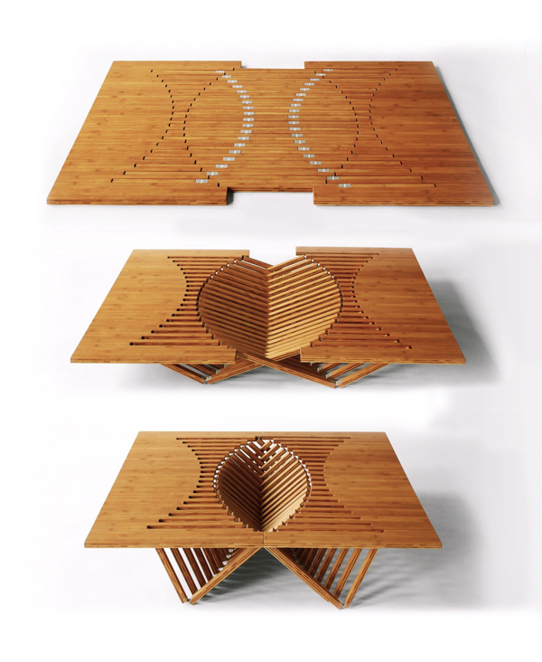 25 Creative Examples of Table Designs DesignBump : table designs 004 from designbump.com size 600 x 732 jpeg 286kB