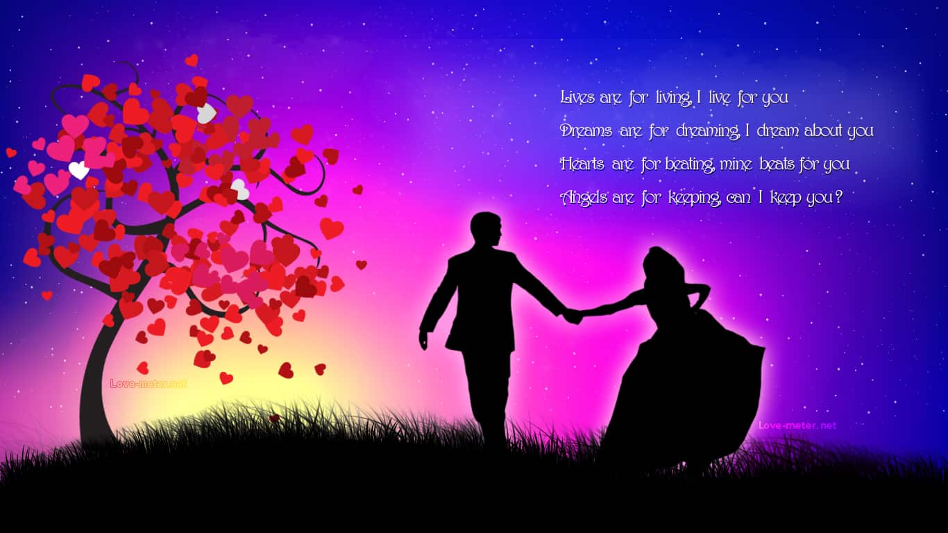 40 Romantic Love Wallpapers Designbump