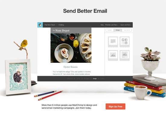 Elegant Landing Page Designs