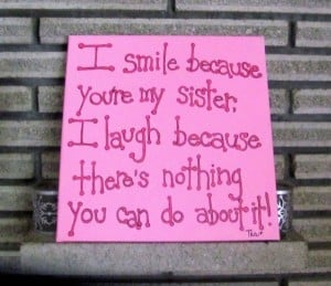 caring sister quotes
