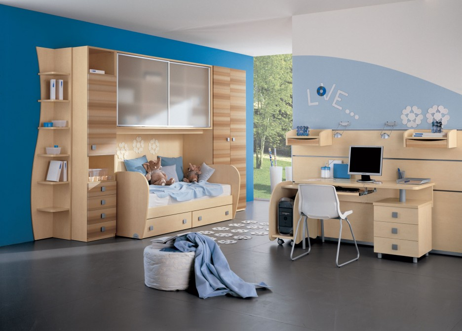 28 Cool and Fun Bedroom Interiors for Kids