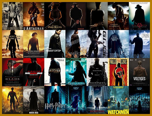21 Popular Movie Poster Cliches