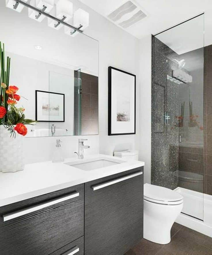 Bathroom Ideas: 30 Modern Bathroom Designs -DesignBump