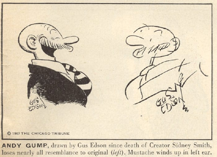 10 Comic Strip Artists Draw Their Characters Blindfolded in 1947